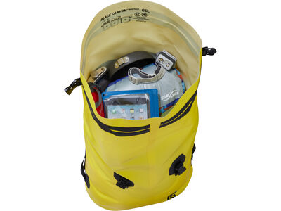Black Canyon Dry Pack, inside storage view