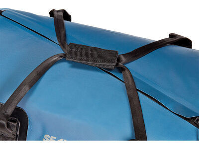 Zip Duffle Blue Handle