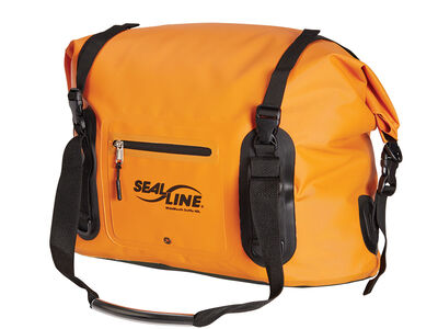 WideMouth Duffle- Orange