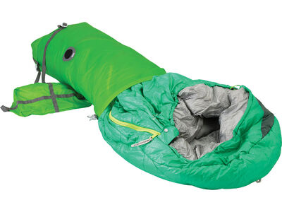BlockerLite Compression Dry Sack 20L, in use