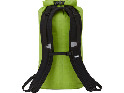 Skylake™ Dry Daypack | Heather Green | Back View